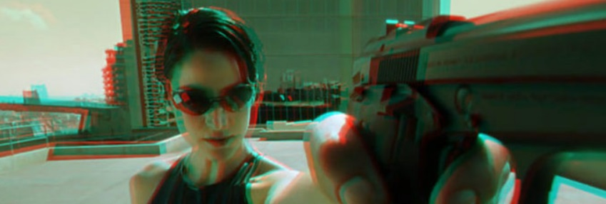 3D stereoscopic anaglyph video